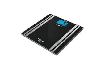 Salter Bluetooth 200kg Smart MiBody Personal Digital Scale LED 76mm Display BLK