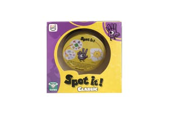 Moose Games Spot it Classic Kids/Children Family Card Game Educational Toy 7y+