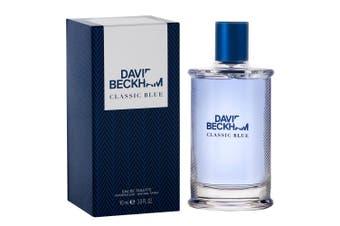 David Beckham 90ml Classic Blue Eau De Toilette Fragrances/Natural Spray Men