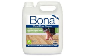Bona 2.5L Wood Floor Cleaner/Maintenance for Timber/Wooden Surface Cleaning