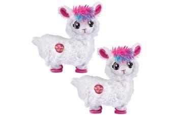 2PK Zuru Pets Alive Electronic Booty Shakin/Dancing Musical Llama Girls Toys 2y+