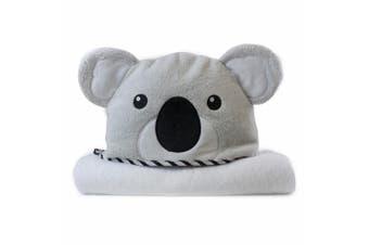Bubba Blue Animals Koala Novelty Hooded Nursery/Infant Wrap Baby 0m+ Bath Towel