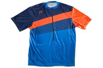 Bellwether Men Rock-It Cycling/Bike Short Sleeve Sportswear Jersey Small Pacific