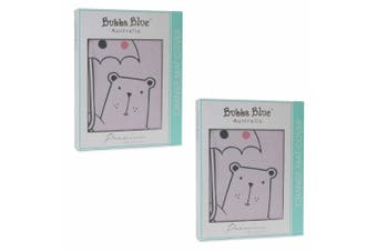 2PK Bubba Blue Beary Sweet Change Cotton Mat Changing Cover Baby/Infant 0m+ Pink
