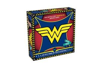 Wonder Woman Road Trip Kids/Children Fun/Stratergy Board Game 2-4 Players 12y+