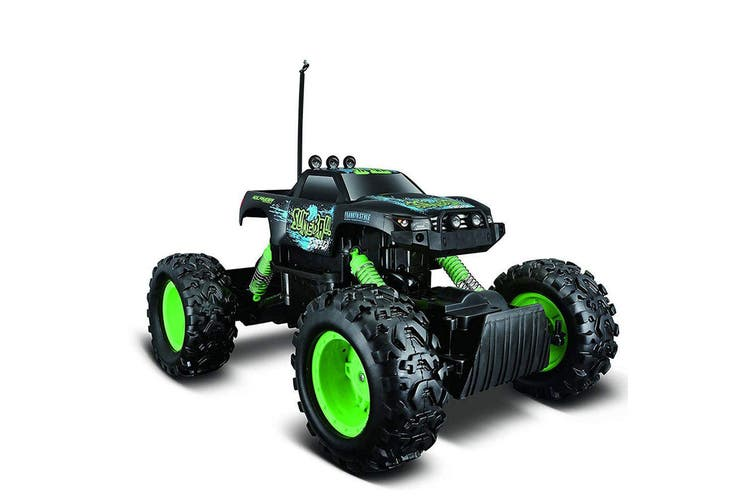 Maisto Tech 4x4 Rock Crawler w Cell Battery/RC Car Truck Toy Assorted Colour 8y+