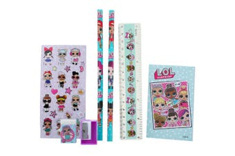 LOL Surprise Mini Stationery Writing/Supplies Set for Kids/Children/Girls 3y+