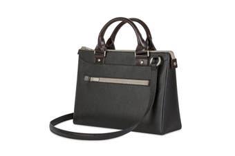 "Moshi Urbana Mini Lightweight Padded Ladies Handbag For 12"" Laptop/iPad Black"