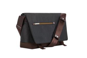 """Moshi Aerio Shoulder/Messenger Water Repellent Bag For 15"""" Laptop/Camera Black"""