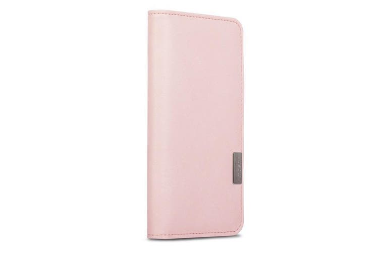 Moshi Overture Leather Shockproof Folio Case/Cover For iPhone 7/8/SE Pink