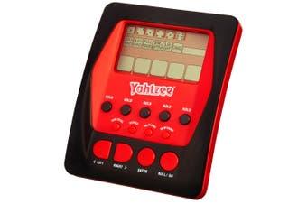 Hasbro Portable Yahtzee Electronic Digital  Dice Handheld Mini Board Game Kids