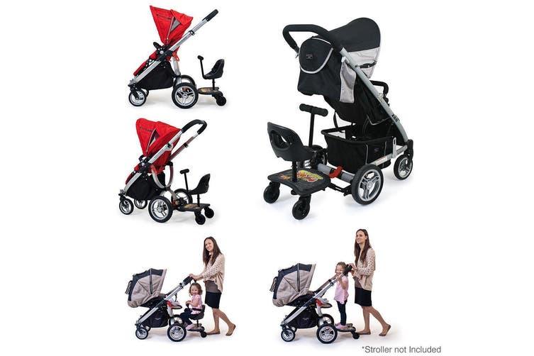 Vee Bee EZ Rider Stand/Sit Toddler Tandem Seat Board Connector for Stroller/Pram