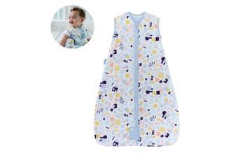 The Gro Company Grobag Baby Cotton Sleeping Bag 1.0 TOG Size 18-36m Happy Folks