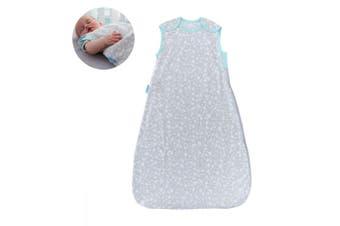 The Gro Company Grobag Baby Cotton Sleeping Bag 0.2 TOG Size 0-6m Moon Dust