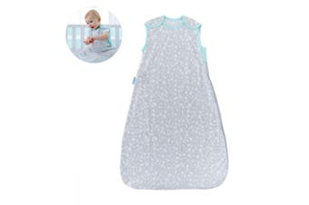 The Gro Company Grobag Baby Cotton Sleeping Bag 0.2 TOG Size 6-18m Moon Dust