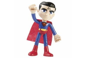 """Justice League Superman DC Superhero 4"""" Bendables Toy Figures for Kids/Children"""