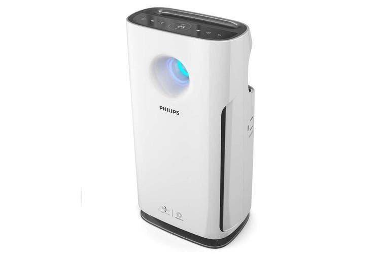 Philips AC3256/70 HEPA Filter Air Odour Purifier/Cleaner/Steriliser Puma White