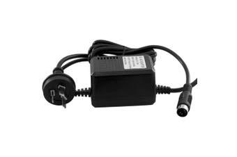 Doss 9V Dual Output AC Power Supply w/ 4 Pin Din Plug 700mAh 240VAC 50Hz Black
