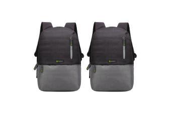 "2PK Moki Odyssey Backpack Travel Bag Carry Case Cover for 15.6"" Laptop/MacBook"