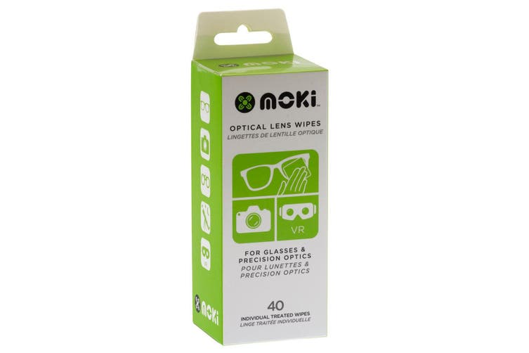 3x 40pc Moki Optical Lens Wipes Cleaner Cleaning Wet Tissue for Camera/VR/Phone
