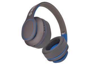 Moki Navigator Bluetooth Noise Cancellation Over-Ear Headset w/Mic Kids 3y+ Blue