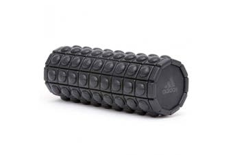 Adidas Textured Foam Roller 33cm Sports/Fitness Train Body Massage/Recovery BLK