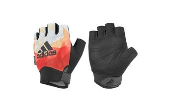 Adidas Climacool Performances Women Fitness/Gym/Sports Half Finger XL Gloves ORN