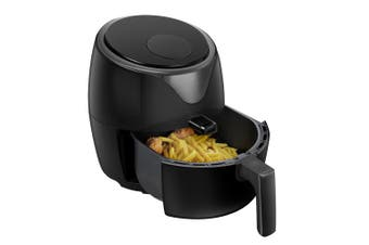 Healthy Choice 1400W 5L Digital  Electric Air Fryer Cooker/Baker/Non-Stick Black