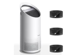 Trusens Z1000 23sqm Small Air Purifier/Cleaner Set w/Replacement Carbon Filters