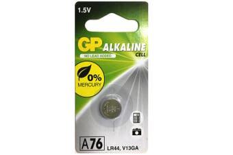 1pc GP LR44 A76 V13GA 1.5V Alkaline Button Cell Batteries for Calculators Watch