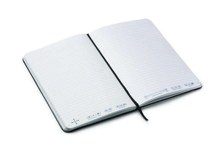 2PK Livescribe Unlined 21x14cm Dot Paper Journal Series 2 Digital Notebook/Pad