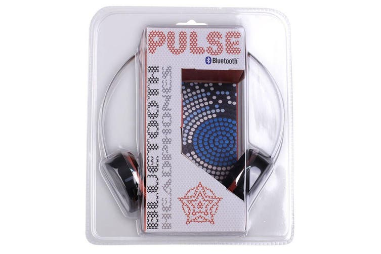 Pulse Wireless Adjustable Bluetooth 3.0 Headphones/Headset w/ Microphone Black