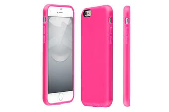 Switcheasy Tough Case Cover/Bump Rubber Protection for Apple iPhone 6 Plus Pink