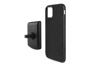 Evutec Case AFIX+ Magnetic w/ Car Mount for iPhone 11 Pro Max Ballistic Black