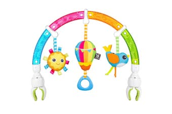 Benbat Dazzle Rainbow Play Hanging Arch Stroller/Bouncers Baby Educational Toys