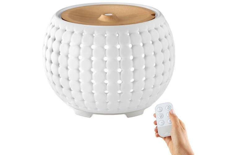 Homedics Ellia Gather Ultrasonic Essential Oil Mist Diffuser/Aroma Therapy/Light