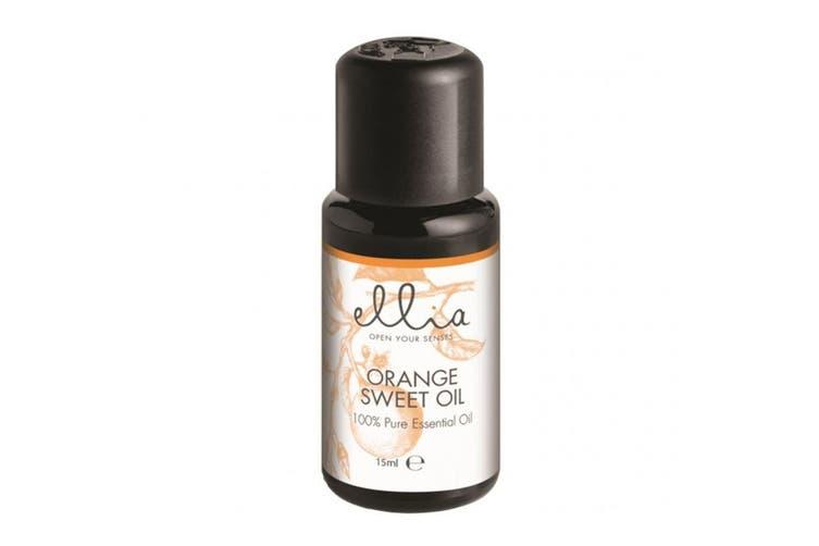 6pc Homedicsc Ellia 15ml Aroma Essential Oils/Scents Eucalyptus/Orange/Geranium
