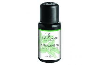 Homedics Ellia Peppermint Essential Oil Blend 15ml Aromatherapy for Diffuser