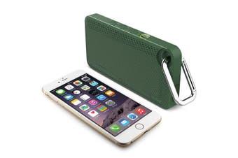 iLuv Mini Smart 6 Wireless Bluetooth Speaker w/Mic/FM Radio for Smartphone Green
