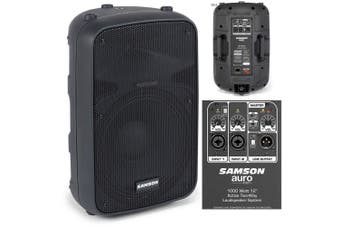 Samson Auro X12D 400w PA Speaker System for Mic/Instruments/Gig/Events/Guitar/DJ