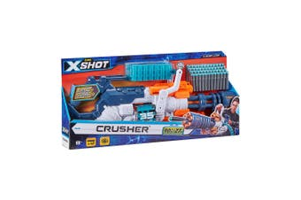 Zuru XSHOT Excel Crusher w/ 48 Darts & Dart Belt Kids/Children Outdoor Toy 8y+