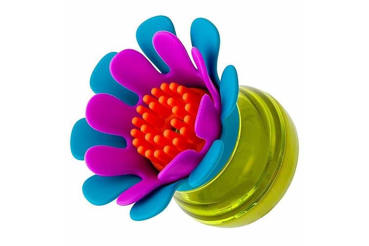 2PK Boon Forb Mini Soap Dispensing Silicone Dish Kitchen Washing Scrub/Brush BL