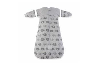 Bubba Blue Convertible Cotton 2.5 TOG 3-12m Baby Sleeping Bag Petite Elephant