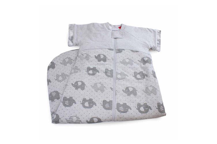 Bubba Blue Convertible Cotton 2.5 TOG 12-24m Baby Sleeping Bag Petite Elephant