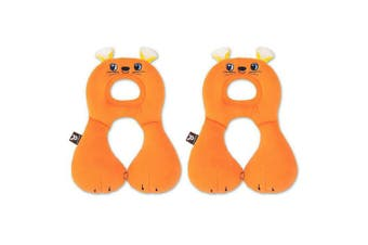2PK Benbat Total Support Headrest Head/Neck Travel Baby/Infant Car Pillow Mouse