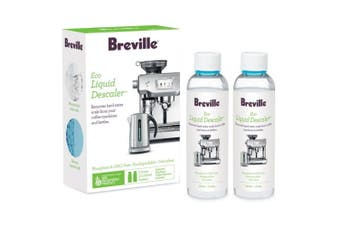 2pc Breville 120ml Eco Liquid Descaler Biodegradable for Coffee Machines/Kettle