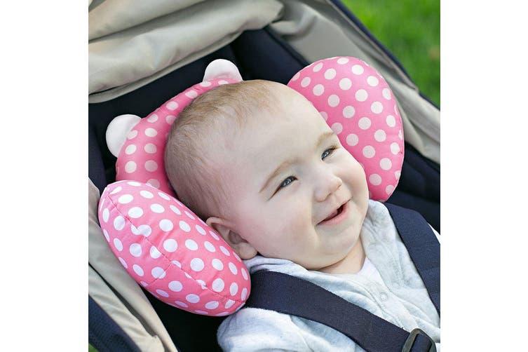 2x Benbat Bear Hug Head/Neck Support Travel Pillow Headrest Baby/Infant 0-12m PK