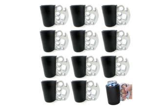 12Pk Brass Knuckles Drink Kooler Can/Stubby Holder/Insulated Cooler Beer/Soda