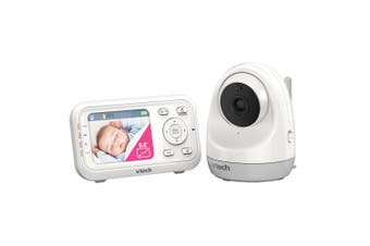 "Vtech 2.8"" LCD Pan/Tilt Full Video/Audio Mountable Safety Baby Monitor/Camera"