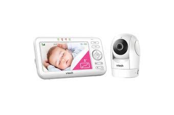 "Vtech BM5500 5"" Digital Baby Monitor Pan/Tilt Video/ 2-way Audio Infant Safety"